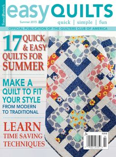 Easy Quilts Summer 2015 Digital Issue by New Track Media