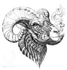 "artista del tatuaje TEN ""boceto"