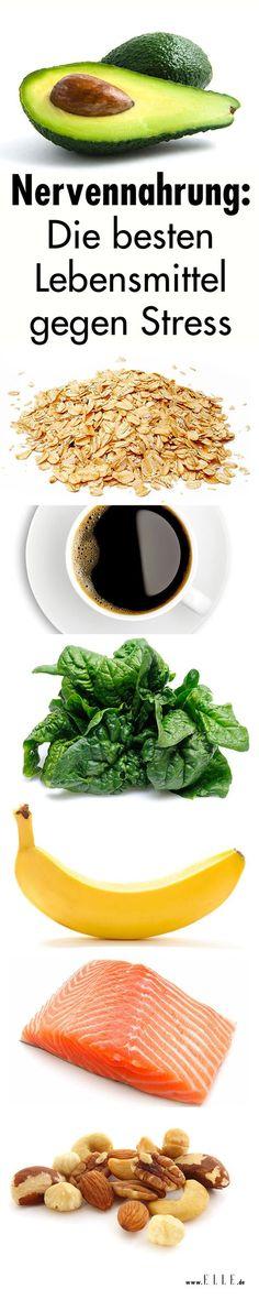 Avocado, Kaffee & Co. sind nicht nur super gesund, sondern wirken wie eine echte Entspannungskur. Wir verraten euch die besten Stresskiller – zum Essen!