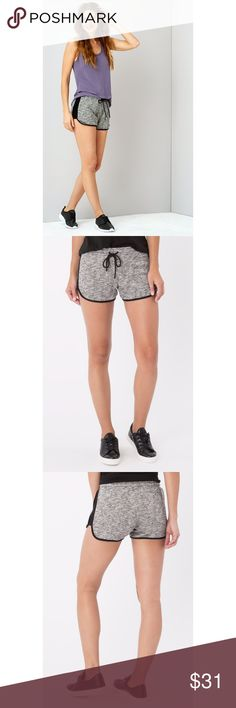 "NWT Z Supply Jet Set Shorts These shorts are the definition of athleisure. Crafted from lightweight Marled French Terry, these shorts feature a contrast trim detail, an adjustable drawstring, and an elastic waistband, which make them perfect for working out or lounging around. 60% Cotton 40% Polyester Machine wash cold, gentle cycle, wash dark colors separately, do not bleach, lay flat to dry, Model is 5'11"" wearing Size S Waist: 31"" Inseam: 3.5"" Z Supply Shorts"