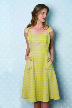 Sundress free pattern for a medium (90-92 bust, 70-72 waist)
