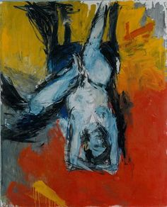 Georg Baselitz | German Expressionist Painter's life « KolahStudio