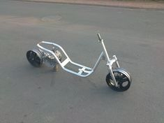 Scooter Design, Bike Design, Scooter Custom, Custom Bikes, Electric Scooter, Electric Cars, Scooter 150cc, Mini Moto, Trailer Dolly