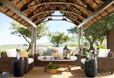 Steal the show and create your dream outdoor space. #potterybarn Wow, what a beautiful outdoor space!