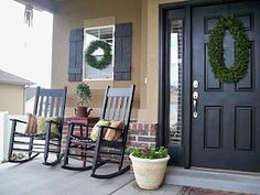 Summer Porch ideas from YouCraftMeUp.blogspot.com