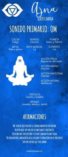 Esta es la sexta entrega de los artículos sobre la armonización de los siete chakras principales, y hoy veremos cómo armonizar el sexto de ellos que se conoce como Ajan o chakra del tercer ojo el c…