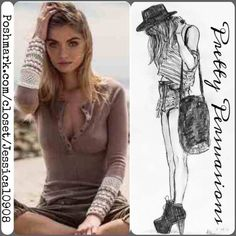 Spotted while shopping on Poshmark: NIP Free People Knit Cuff Thermal Henley! #poshmark #fashion #shopping #style #Free People #Tops