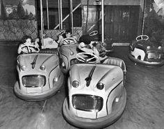 Dodgem Cars at Mordialloc Carnival 1950's