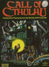Call of Cthulhu core books - Wayne's Books RPG Reference