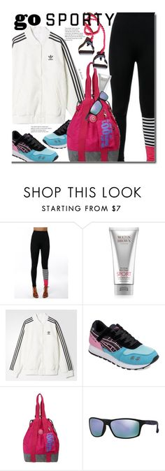 """""""Go Sporty!"""" by beebeely-look on Polyvore featuring Molton Brown, adidas, Arnette, sneakers, sportystyle, twinkledeals and gosporty"""