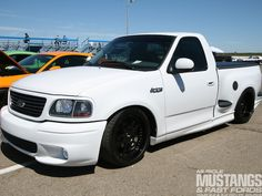 ford lightning with black ground effects - Google Search