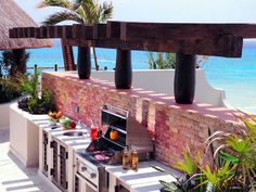 This is the rooftop kitchen at Unit 336 at El Taj.  We stayed there last year, and We Are GOING Back!!!!!