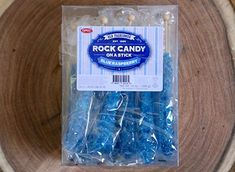 Amazon.com : raspberry candy old fashioned, Extra Large Old Fashioned Rock Candy On A Stick (22g): 18 Candy Lollipop - Individually Wrapped - Ezpeez Rock Candy Sticks (Blue Raspberry) : Grocery & Gourmet Food Rock Candy Sticks, Bulk Candy, Gourmet Recipes, Raspberry, Amazon, Bedroom, Blue, Food, Amazons