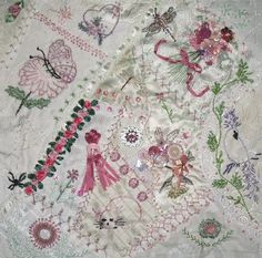 I ❤ crazy quilting, beading & ribbon embroidery . . .  Critters ~By Sherrydawn Winchester Wade