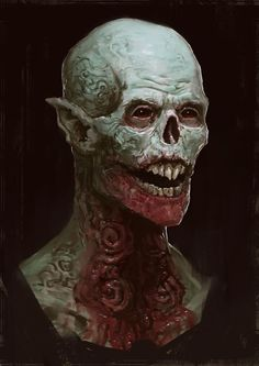 The STRAIN - Strigois, Edward Delandre on ArtStation at https://www.artstation.com/artwork/the-strain-strigois: