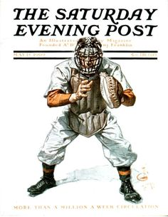 Baseball Catcher (J.C. Leyendecker May 15, 1909)