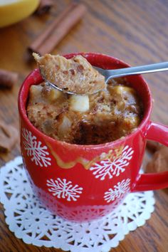 Dessert ♦️mug cake speculos et pommes