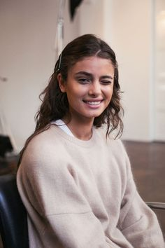 Who gave taylor hill a black eye?  Laughing!