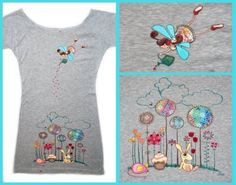 Mojo-Jojo: hand-painted t-shirts. Ideas!