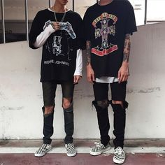 Hype in Fash Duo Source by Ghost_in_the_shadow Grunge Outfits, Indie Outfits, Tomboy Outfits, Rock Outfits, Grunge Fashion, Urban Fashion, Mens Fashion, Fashion Outfits, Fast Fashion