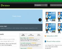 GreenMag wordpress theme