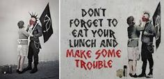 Image result for pictures of street art by banksy