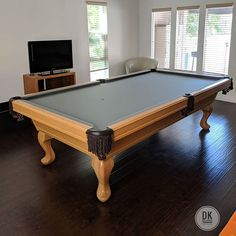 Olhausen Santa Ana Pool Table In A Smoke On Maple Finish At - Santa ana pool table