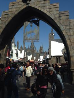 Not a Harry Potter fan, but this at Universal Studios Osaka is just awesome.