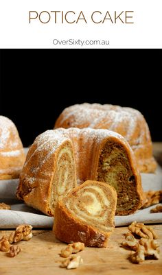 Potica Cake - this recipe for a traditional Slovenian sweet bread cake is sure to delight the entire family at dessert. Serve as is, or let us know what your favourite accompaniment is...