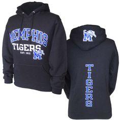 Black Memphis Tigers Hoodie