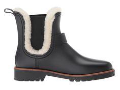 Bernardo Zain Rain Women's Shoes Black/Natural Shearling