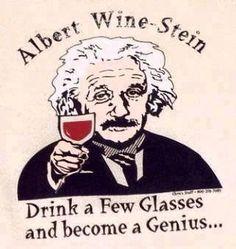 Love that Albert Wine Stein!!