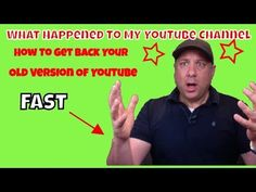 How To Get The Old YouTube Layout