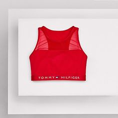 TOMMY COTTON BRALETTE from Tommy Hilfiger $35