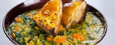 Red Lentil and Sweet Potato Stew