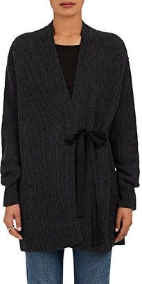 Shop Now - >  https://api.shopstyle.com/action/apiVisitRetailer?id=633876030&pid=uid6996-25233114-59 Helmut Lang HELMUT LANG WOMEN'S WOOL-CASHMERE TIE-FRONT CARDIGAN SWEATER  ...