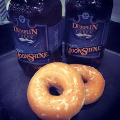 Sautéed donuts in our Autumn Maple and Apple Dumplin flavored #moonshine at the Sevierville Convention Center. #ThunderRoad #WhiskeyRunnersSpirit #foodporn