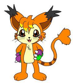 Kat Digimon style