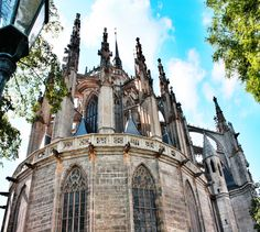 Apse of the cathedral of St.Barbara in Kutná Hora (Central Bohemia), Czechia #gothic #cathedral #Czechia