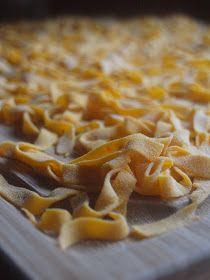 Sapori & Colori: Tagliatelle di zucca Ravioli, Tortellini, Gnocchi, Homemade, Cooking, Desserts, Food, Noodle, Kitchen