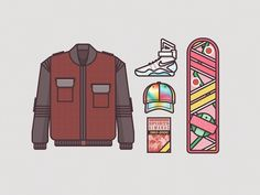 RYAN PUTNAM | Illustrations Of Costumes Worn By Famous Film Characters 2