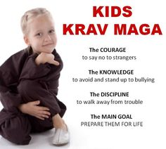 The Krav Maga Force Kids Self Defense program will cover techniques that will mentally empower your child — faster than any other martial arts Self Defense Classes, Self Defense Tips, Self Defense Techniques, Personal Defense, Krav Maga Kids, Learn Krav Maga, Israeli Self Defense, Self Defense Women, Dojo