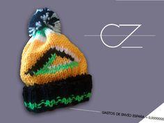 gorro TRIANGLE de CeeZed por DaWanda.com