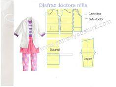 doctora niña disfraz