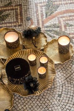 Tea Lights, Candles, Elegant, Modern, Tulips, Classy, Chic, Candle, Lights