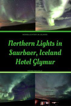 Eine Nordlichtjagd in Saurbaer, Akranes, am Hotel Glymur. Euch erwarten tolle Bilder und natürlich ein Bericht über den gesamten Abend.