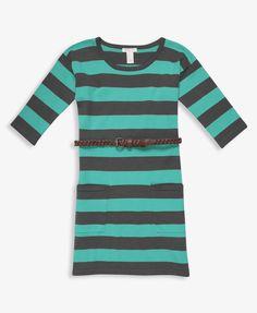 Braided Belt Sweater Dress #forever21girls