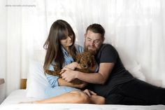 PHOTOGRAPHY: Couple Create Gorgeously Hilarious Newborn Puppy Shoot