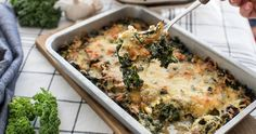 Recept: Grönkålsgratäng med lagrad ost