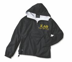 Kappa Alpha Theta KAθ Anorak Jacket KAθ Jacket by sparklesbyshell